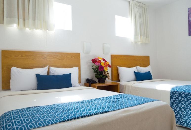 Hotel Klimt, Халапа, Тримісний номер, 2 двоспальних ліжка, Номер