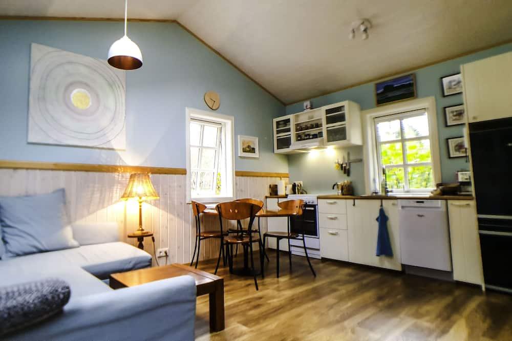 Chalet, 1 habitación, vista a la montaña - Sala de estar