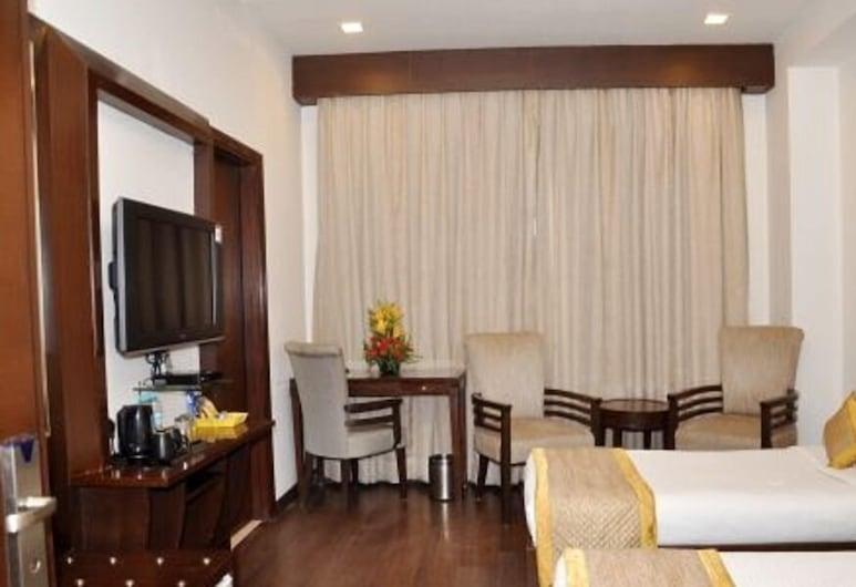 Siesta Bellvue - Lajpat Nagar, Nuova Delhi, Camera Deluxe, Camera