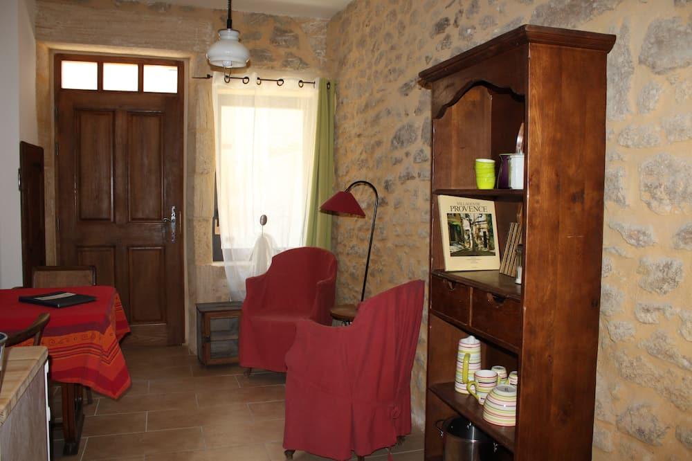 شقة (Chez le Marocain) - منطقة المعيشة