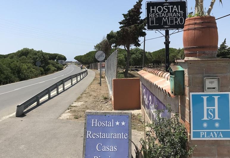 Hostal Restaurante El Mero, Barbate, Įėjimas į viešbutį