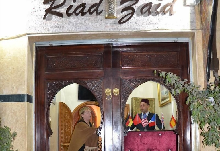 Riad Zaid, Marrakech, Reception