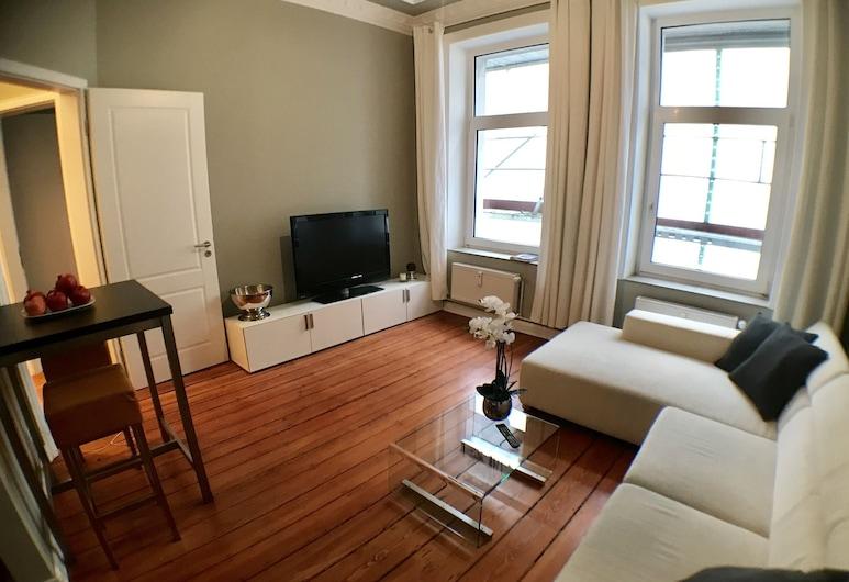 Bluecity Apartments, המבורג, דירה, 2 חדרי שינה, אזור מגורים