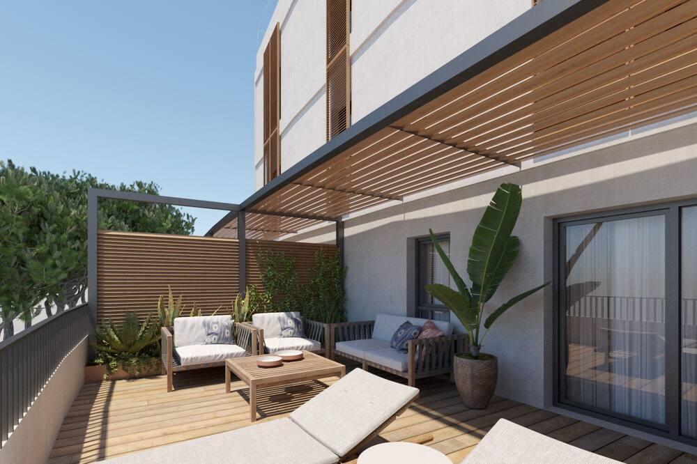 Dobbeltværelse - terrasse - Terrasse/patio