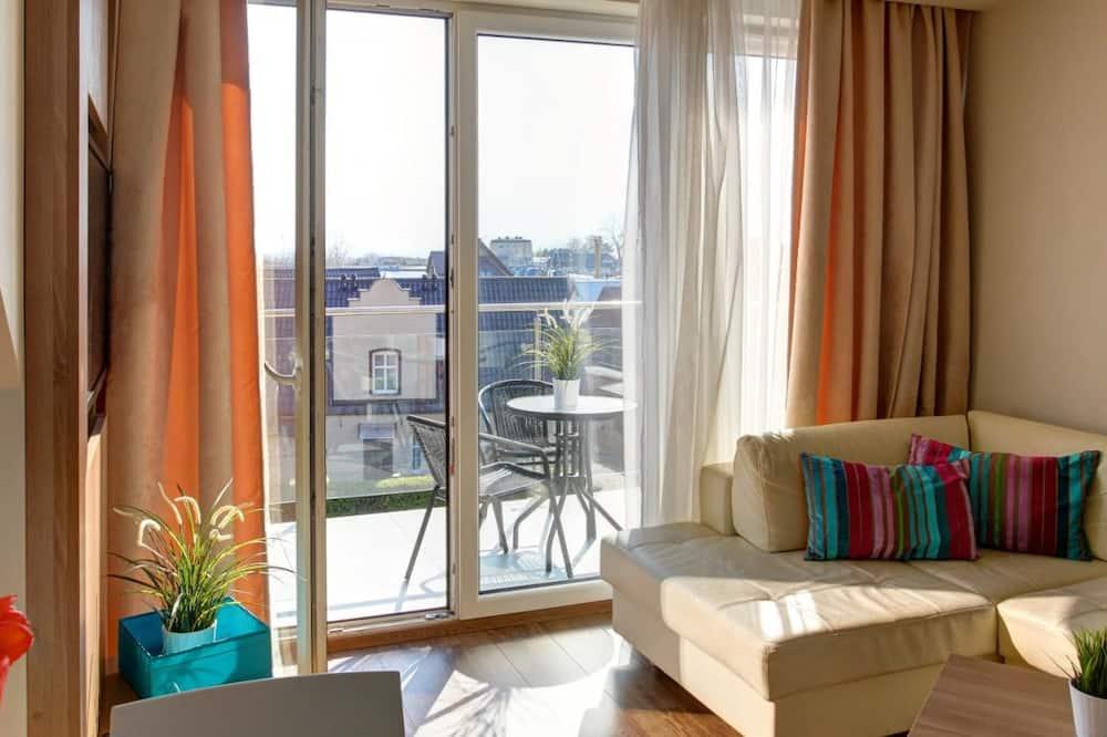 Dúplex, 3 habitaciones, balcón, vista al mar - Habitación