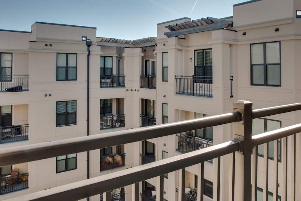 Premium-lejlighed - 1 soveværelse - balkon - Altan