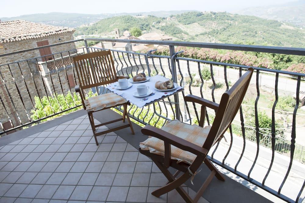公寓, 私人浴室 (Mansardato) - 陽台