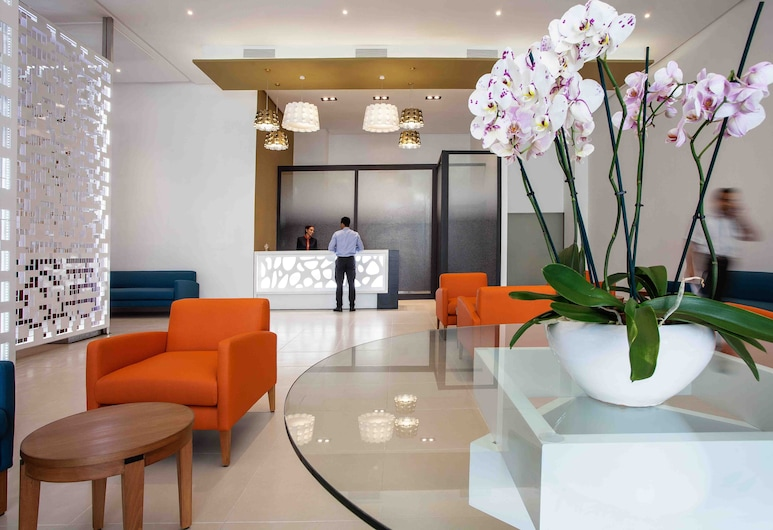 Relax Hotel Casa voyageurs, Casablanca, Zona con asientos del vestíbulo