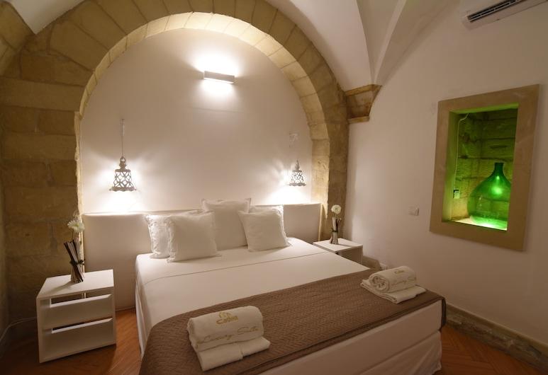 Cadelli Luxury Suite, Lecce, Deluxe Süit, 2 Yatak Odası (Basement), Oda