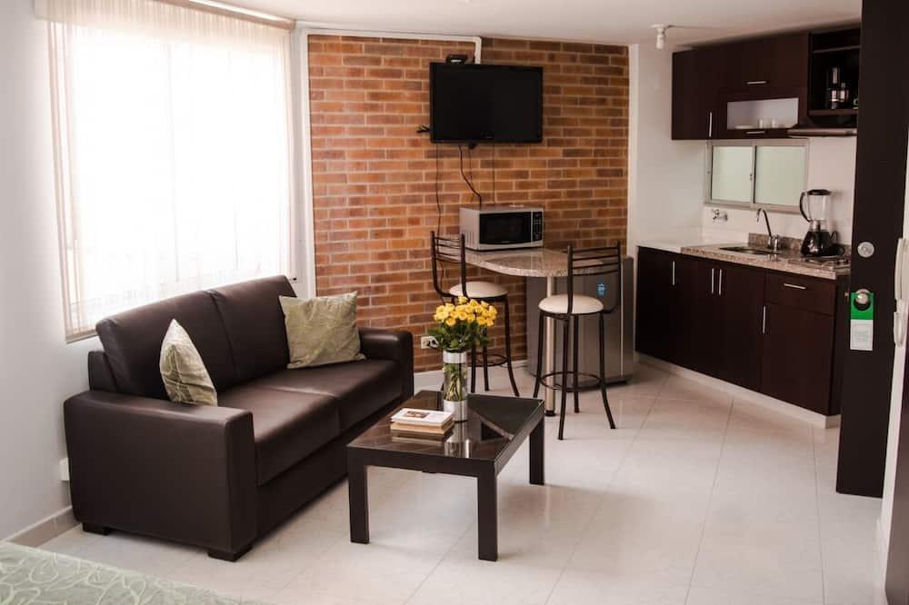 Standard Studio, 1 Bedroom, Kitchen - Living Room