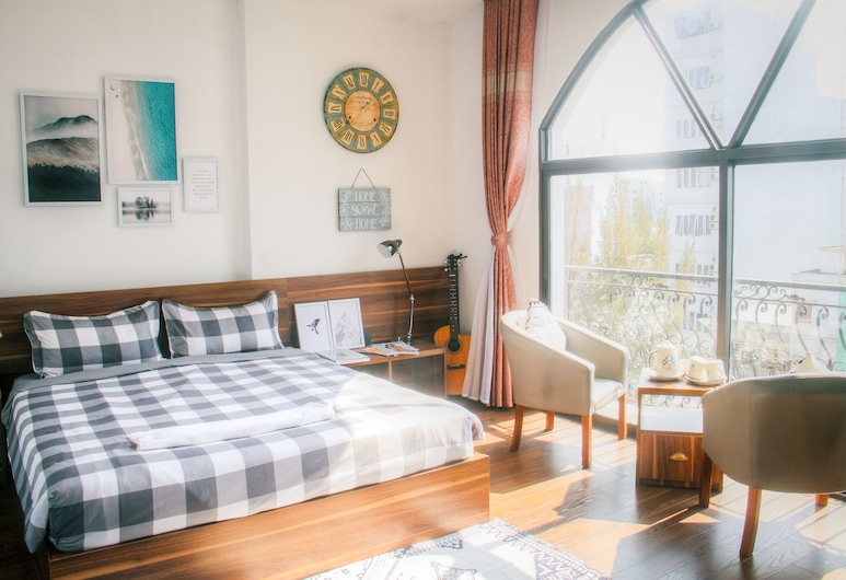 Airy Art Apartment My Khe Beach, Da Nang, King Airy, Room