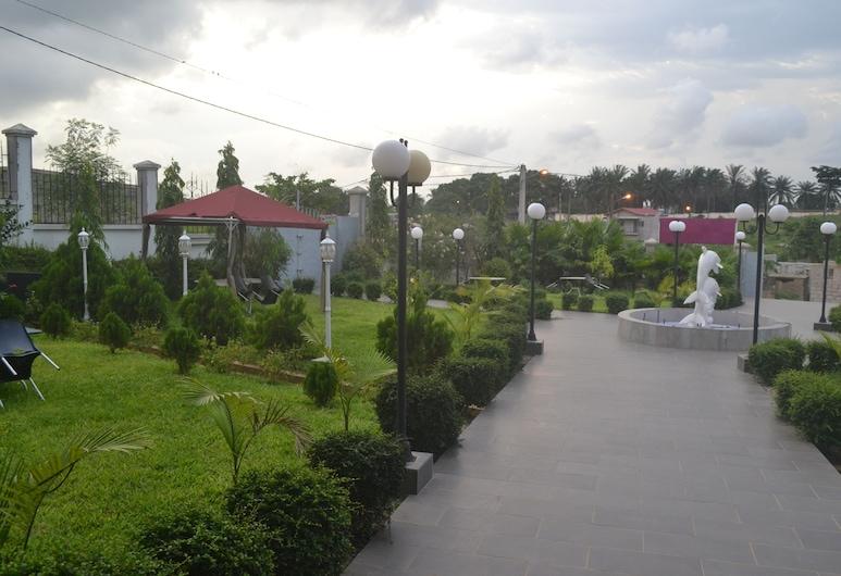Le Jardin d'eden 2, Abidjan, Hotel Entrance