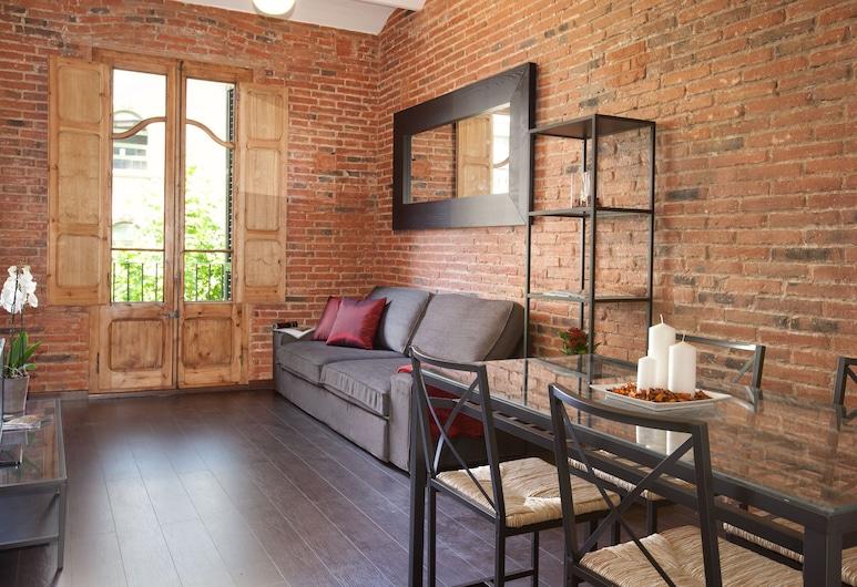 Sagrada Familia Apartments, Barcelona, Basic-lejlighed - 2 soveværelser (SF 4-2), Stue