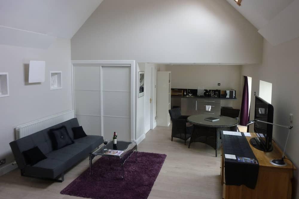 Luksus-studiolejlighed (Apartment) - Opholdsområde