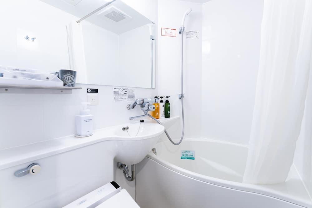 חדר דה-לוקס טווין, ללא עישון - חדר רחצה