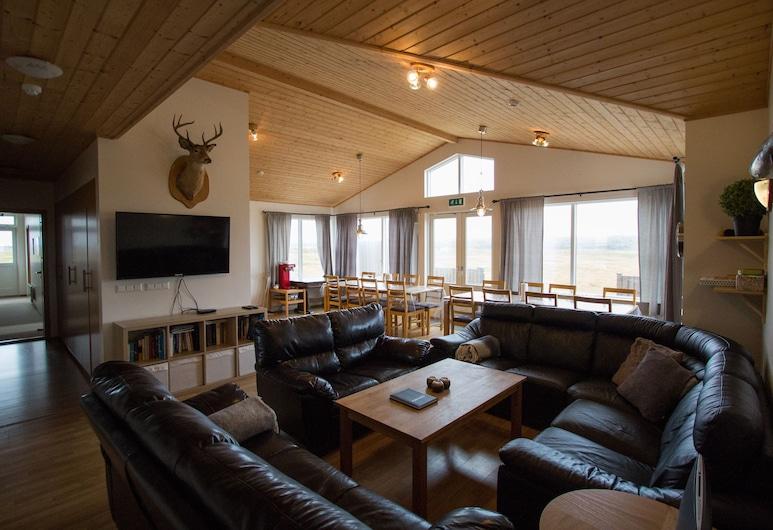 Eldhraun holiday homes, Kirkjubaejarklaustur, Standard Villa, Multiple Bedrooms, Living Room