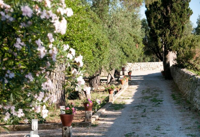 克魯西亞別墅農莊酒店, 馬爾塔諾, 花園