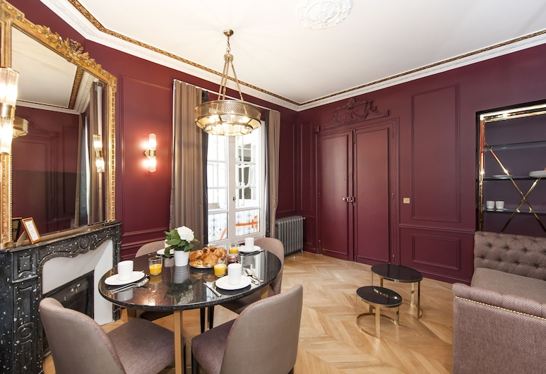 Champs Elysées - Lincoln Appartements, Paris, Design Apartment, 2 Bedrooms, Living Room