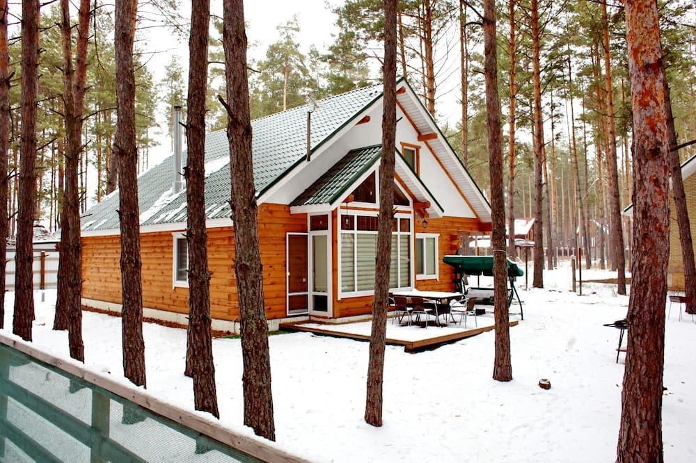 Vila typu Comfort, 4 spálne, terasa, s výhľadom do záhrady - Terasa