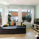 Apartment, 1 Schlafzimmer, Terrasse - Wohnbereich