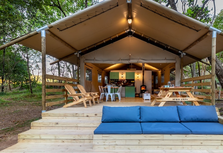 AfriCamps at Mackers - Glamping, Hazyview, Luxury Tents, Balcony