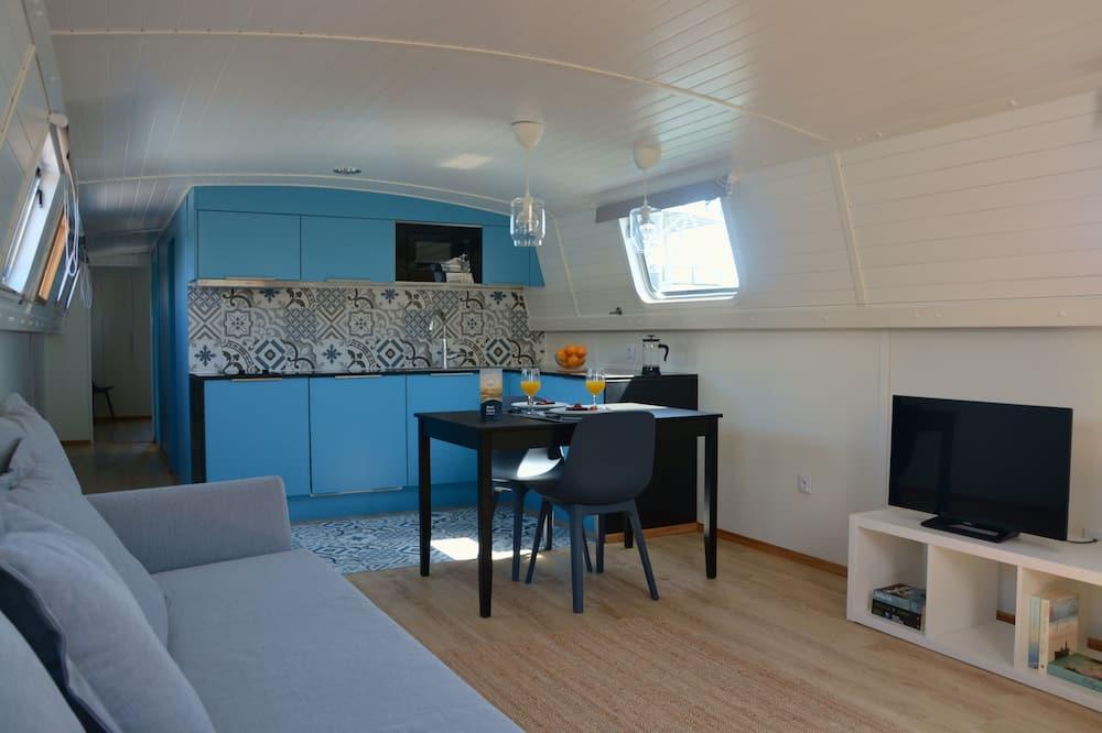 Docket Boat, 1 Bedroom - Powierzchnia mieszkalna