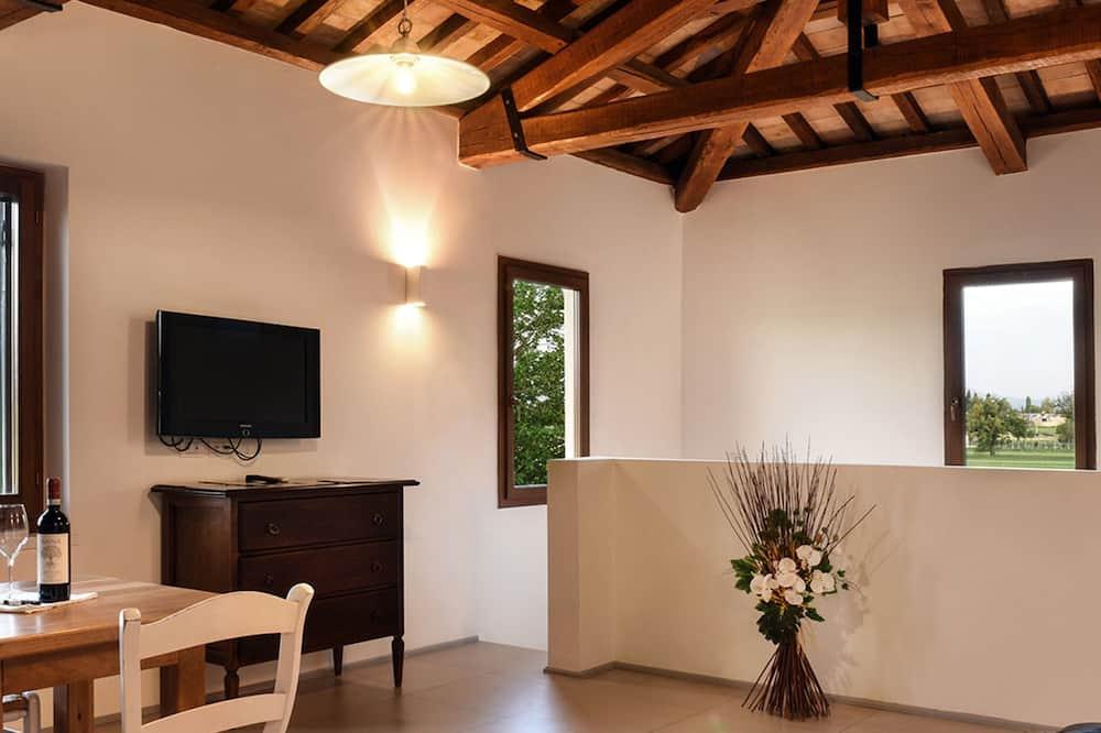 Štúdiový apartmán - Obývacie priestory