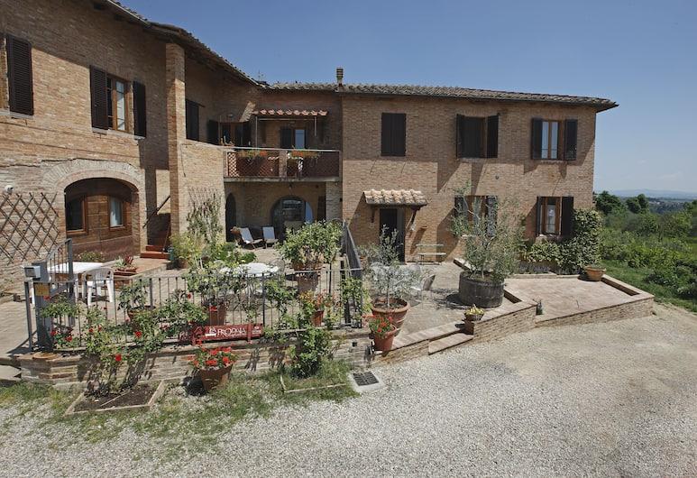 Agriturismo la Prodaia, Siena, Facciata hotel