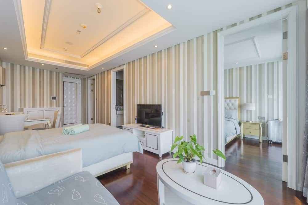 Twin Double-Bed Studio, Sea View - Room