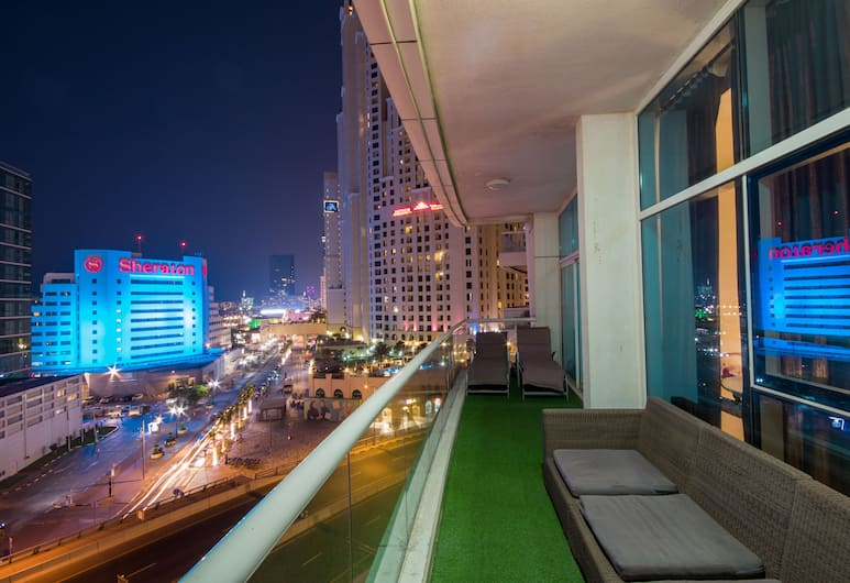 Nice JBR Beach Apartment with Dream Sea View, Dubajus, Apartamentai, 3 miegamieji, Balkonas