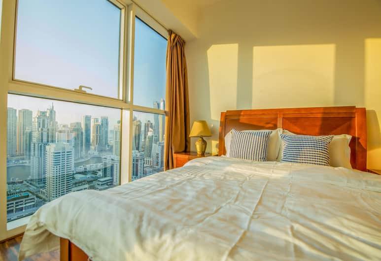 Dream apartment with skyline sea view, Dubajus