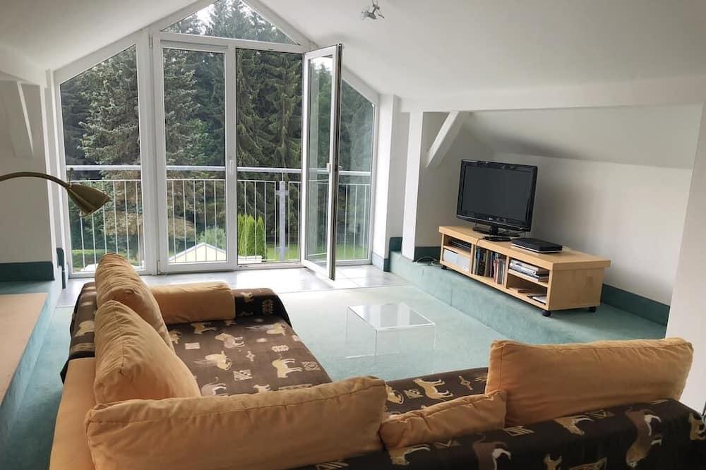 高級頂層客房 - 客廳