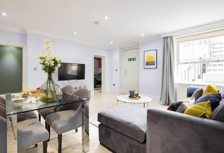 Sweet Inn - Lancaster gate, London, Apartment, 2Schlafzimmer (LG1), Wohnbereich