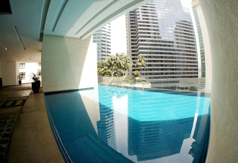 吉隆坡城中城民禮 8 號德斯貝斯套房酒店, 吉隆坡, 室外泳池