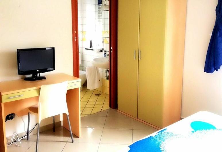 Central Room Fortuna, Pompeia, Quarto quádruplo conforto, Quarto
