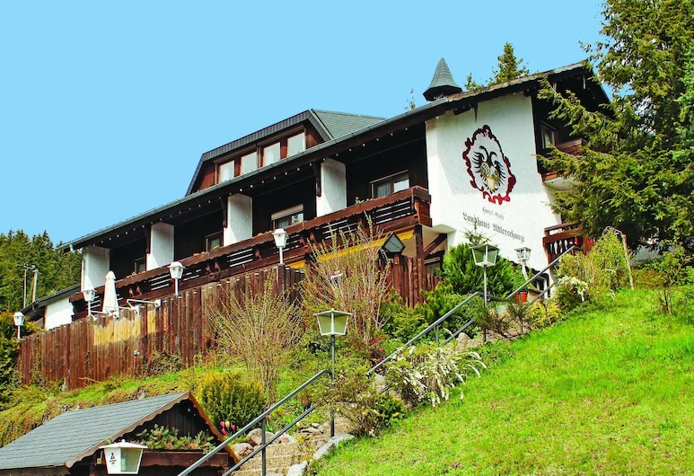 Hotel Adlerschanze, Schönwald, Fassaad