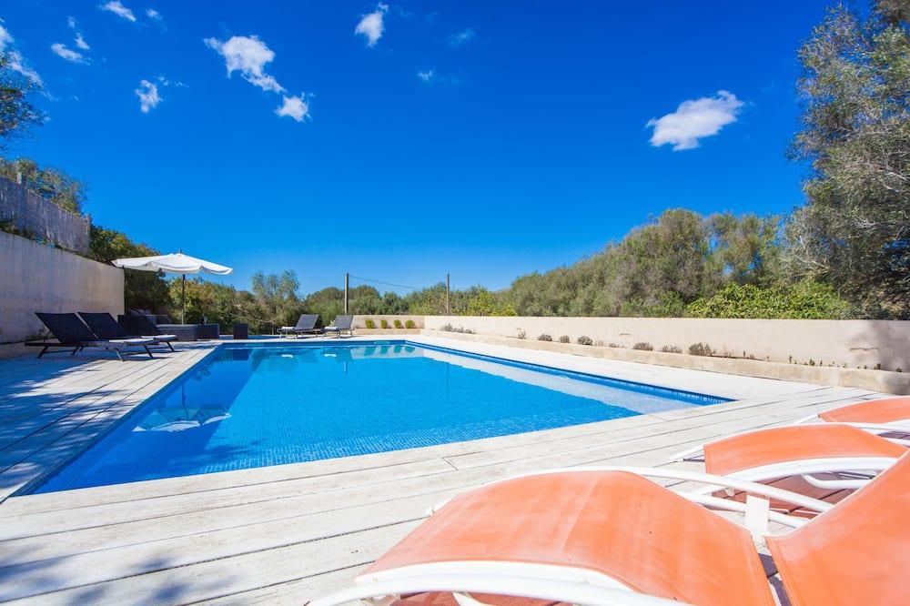 Vila, 4 spavaće sobe, privatni bazen - Privatni bazen