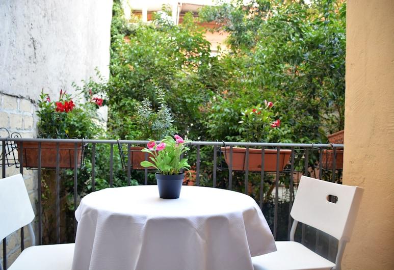 Roma Hotel Srls , Rome, Camera tripla, balcone, Balcone