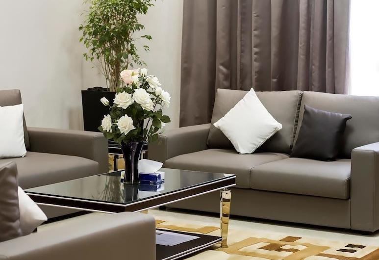 RURU Tower, Manama, Departamento Deluxe, 1 habitación, Sala de estar