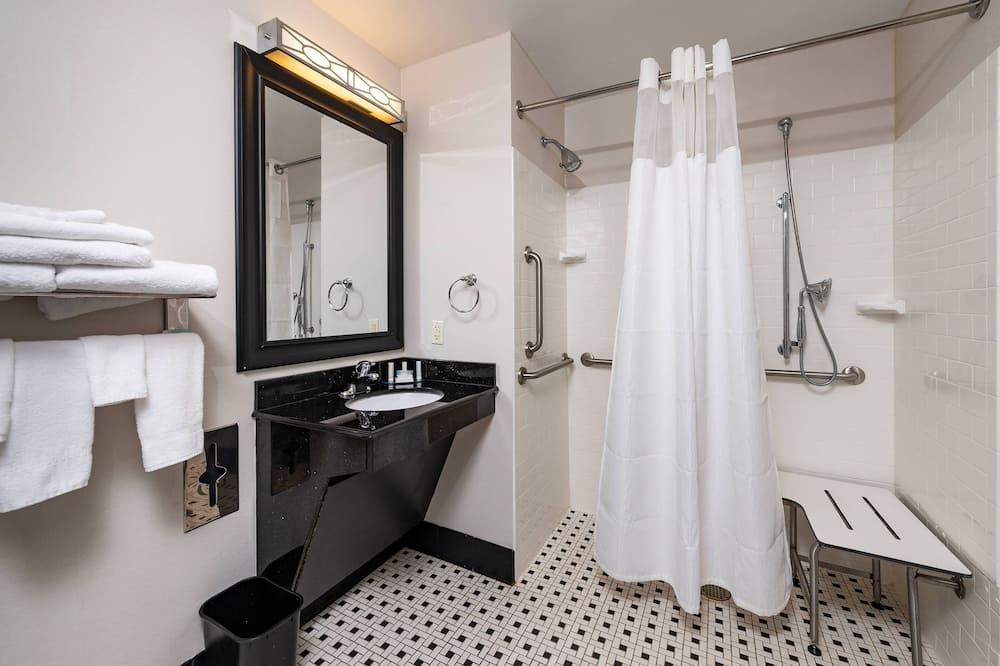 Suite, 1 king size krevet, za nepušače - Kupaonica