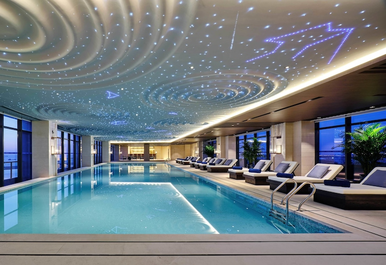 上海三甲港綠地鉑派酒店-上海浦東機場/迪士尼, 上海市, 室內泳池