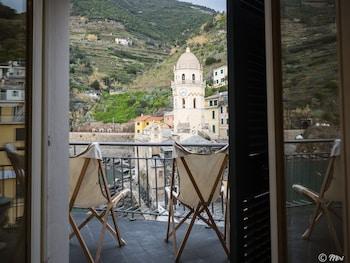 ภาพ ลาสซูอพาร์ทเมนท์ พร้อมระเบียง ใน Vernazza
