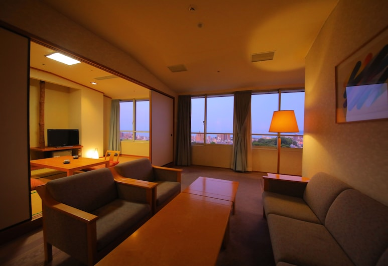 Hotel Beppu Pastoral, Beppu, Pokoj typu Premium, nekuřácký (Japanese Western Style), Pokoj