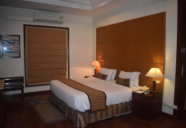 The Ocean Pearl Retreat, New Delhi, Deluxe kamer, 1 twee- of 2 eenpersoonsbedden, 1 slaapkamer, Toegankelijk voor mindervaliden, Kamer