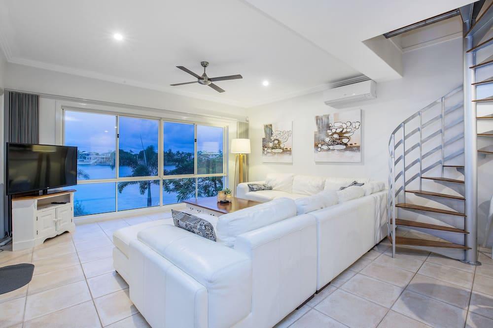 家庭獨棟房屋, 多間臥室, 私人泳池 - 客廳