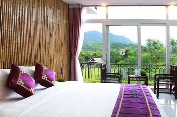 ภาพ Mai Chau Sunset Boutique Hotel ใน ไหมโจ๋ว