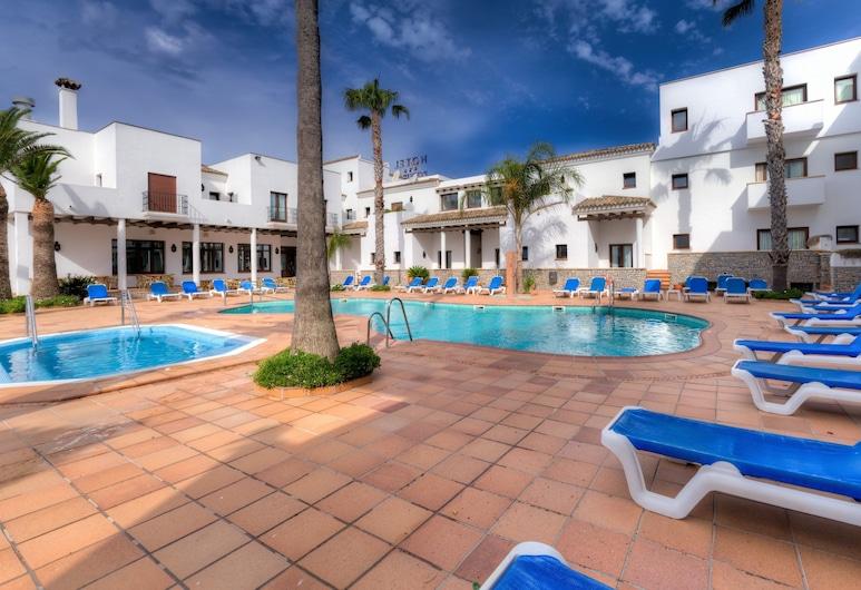 Hotel Porfirio, Barbate, Piscina