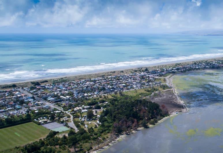 South Brighton Holiday Park, Christchurch, Bagian luar