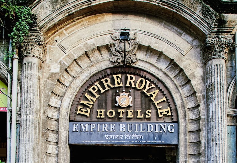 Empire Royale Hotel, Bombay, Otel Girişi