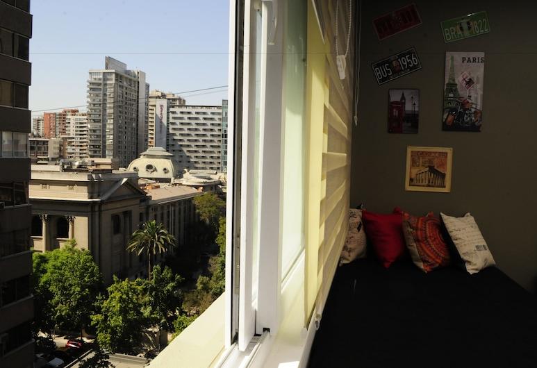Apartamento Living Mac Iver, Santiago, Appartement, Meerdere bedden (Mac Iver 903), Kameruitzicht